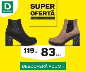 Campanie de reduceri Super Ofertă - descoperă colecÈ›ia de articole la un super preÈ› în Deichmann Online Shop
