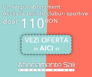 Campanie de reduceri ESX - Abonamente Sali [Romania]