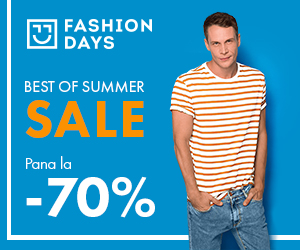 Campanie de reduceri Best of Summer Sale - reduceri de pana la 70% la articolele pentru barbati