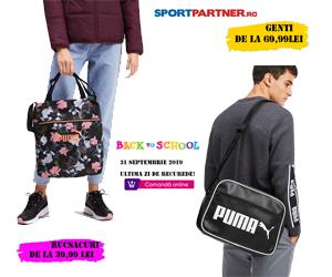 Campanie de reduceri BACK TO SCHOOL - RUCSACURI