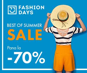 Campanie de reduceri Best of Summer Sale - reduceri de pana la 70% la articolele pentru femei