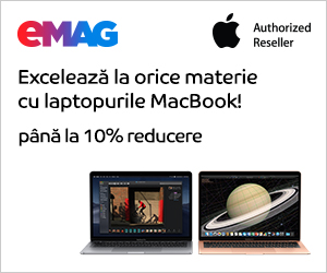 Campanie de reduceri Campanie laptopuri Apple, 10- 27.10.2019