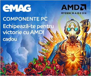 Campanie de reduceri Placi video si procesoare AMD+ cadou joc, 15.10.2019- 30.01.2020