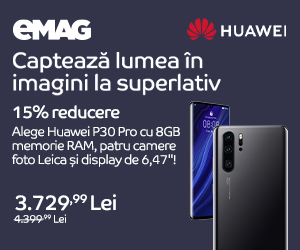 Campanie de reduceri Campanie Huawei P30 Pro