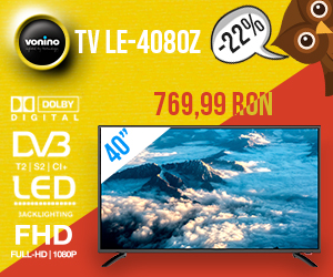 Campanie de reduceri  Promotii de Toamna, Televizor Vonino 40