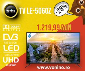 Campanie de reduceri   Promotii de Toamna, Televizor Vonino 50