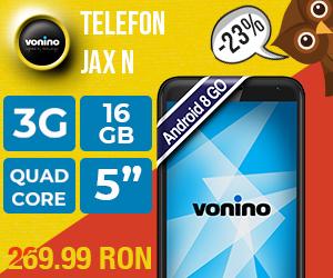 Campanie de reduceri Promotii de Toamna, Smartphone Vonino Jax N, cu 23% reducere!