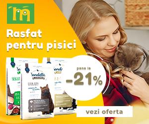 Campanie de reduceri Pana la -21% la hrana uscata pentru pisici Sanabelle