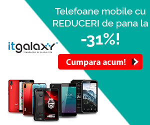 Campanie de reduceri Telefoane mobile cu REDUCERI de pana la -31% pe itgalaxy.ro!