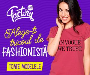 Campanie de reduceri Tricouri pentru fashioniste