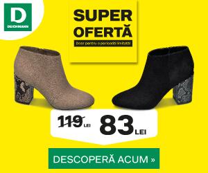 Campanie de reduceri Super Ofertă - descoperă colecția de articole la un super preț în Deichmann Online Shop