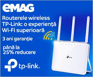 Campanie de reduceri Routere wireless TP-Link, 24- 30.10.2019