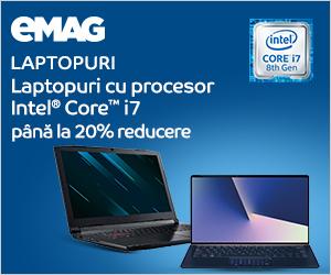 Campanie de reduceri Laptopuri cu procesor Intel_ IMX, 28.10- 11.11.2019