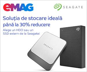 Campanie de reduceri HDD-uri si SSD-uri externe Seagate Backup Plus, 30.10- 05.11.2019