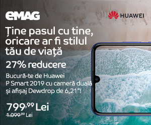 Campanie de reduceri Campanie Huawei P Smart 2019