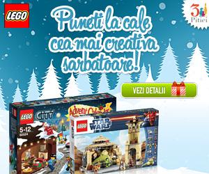 Campanie de reduceri Craciun 2019 - LEGO