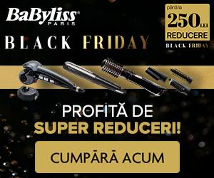 Campanie de reduceri Black Friday la BaByliss!