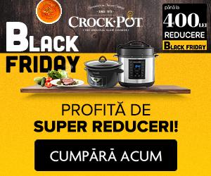 Campanie de reduceri Black Friday la Crock-Pot!