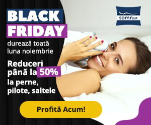 Campanie de reduceri Black Friday Noiembrie