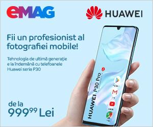 Campanie de reduceri Campanie Huawei P30 Series