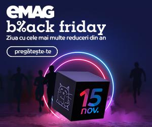 Campanie de reduceri eMAG Black Friday 2019