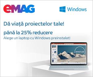 Campanie de reduceri Laptopuri cu Windows, 21- 28.11.2019