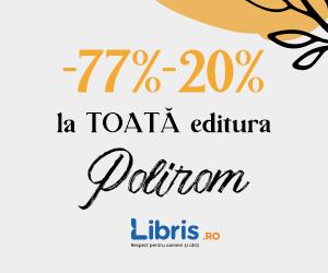 Campanie de reduceri Weekend Polirom -77% -20%