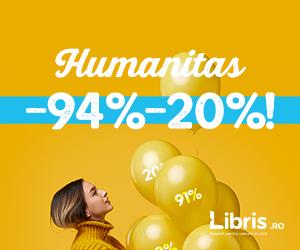 Campanie de reduceri -94% -20% Weekend Humanitas!