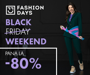 Campanie de reduceri Black Weekend - reducerile de pana la 80% continua