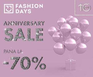 Campanie de reduceri Anniversary Sale - pana la -70%