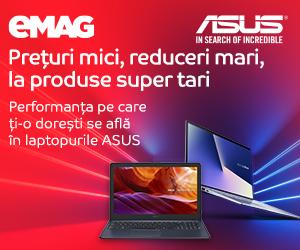 Campanie de reduceri Laptopuri ASUS after BF- 16- 18.11.2019