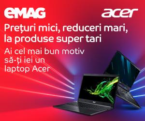 Campanie de reduceri Laptopuri Acer After BF, 16- 18.11.2019