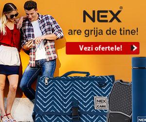 Campanie de reduceri Primesti 10% comision la conversiile inregistrate pentru produse NEX!
