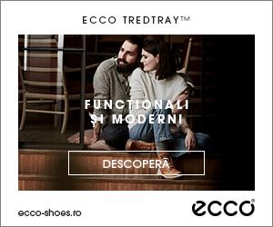 Campanie de reduceri Ghetele ECCO TredTray