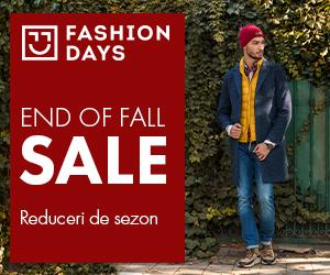 Campanie de reduceri End Of Fall Sale - reduceri de sezon la articolele pentru barbati