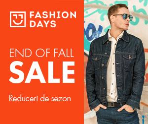 Campanie de reduceri End of Fall Sale - reduceri de sezon la articolele pentru barbati (refresh)