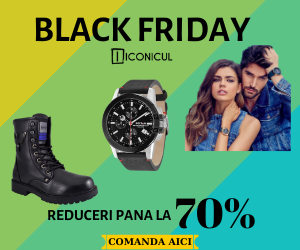 Campanie de reduceri Black Friday 2019 - ICONICUL.RO