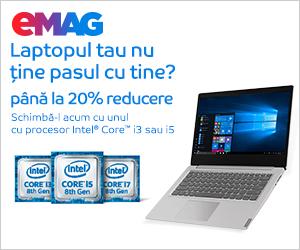 Campanie de reduceri Laptopuri cu procesor Intel_IMX_MTM, 04- 11.11.2019