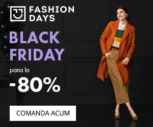 Campanie de reduceri Black Friday - reduceri de pana la 80% la articolele pentru femei