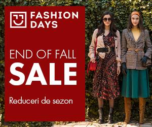 Campanie de reduceri End Of Fall Sale - reduceri de sezon la articolele pentru femei