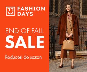 Campanie de reduceri End of Fall Sale - reduceri de sezon la articolele pentru femei (refresh)