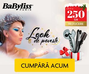Campanie de reduceri Look de poveste cu produsele BaByliss!