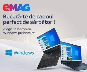 Campanie de reduceri Campanie laptop cu windows preinstalat