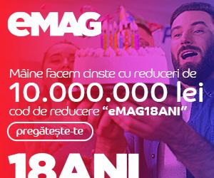 Campanie de reduceri Teasing Ziua eMAG