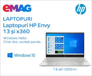 Campanie de reduceri Laptopuri HP Envy cu Windows preinstalat, 02- 13.12.2019