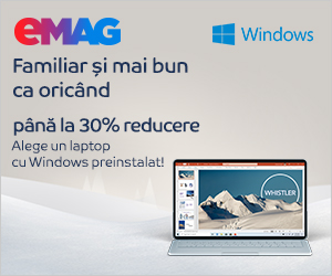 Campanie de reduceri Laptopuri cu Windows preinstalat sub Saptamana Microsoft, 02- 08.12.2019