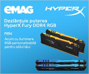 Campanie de reduceri Memorii HyperX Fury DDR4, 11- 17.12.2019