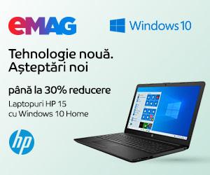Campanie de reduceri Laptopuri HP 15 cu Windows, 16- 20.12.219