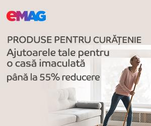 Campanie de reduceri Produse de curatenie, 16- 31.12.2019