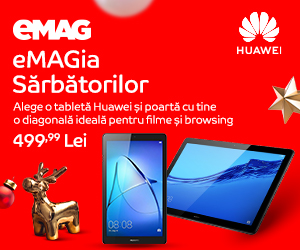Campanie de reduceri campanie tablete Huawei